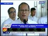 PNoy twits Joker, Miriam- Go ahead, impeach me