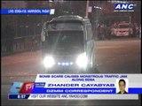 Suspected bomb on bus stalls traffic on EDSA