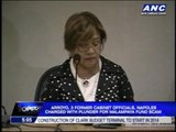 Arroyo, Napoles charged with plunder for Malampaya funds scam
