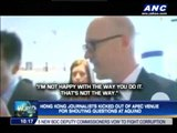 WATCH: HK journos kicked out of APEC for heckling PNoy