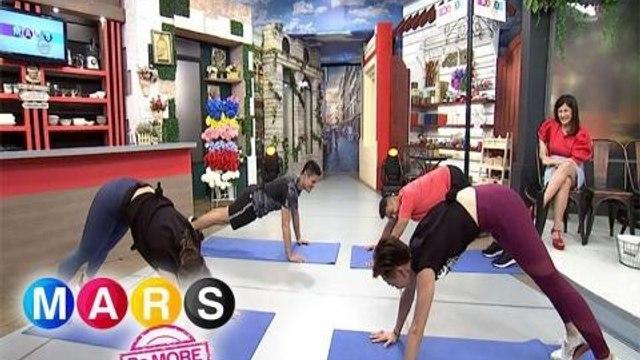 Mars Pa More: Jon Lucas and Rocco Nacino share their intense workout routine | Push Mo Mars