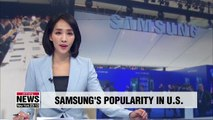 Samsung listed as top non-U.S. brand in American millennials' survey