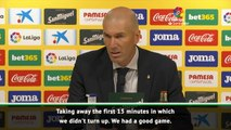 Zidane thrilled with Real Madrid's response