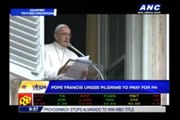 Pope Francis says Filipinos close to his heart