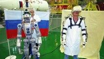 Rusia manda a la Estación Espacial Internacional a su robot androide FEDOR