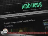 Stranded OFWs fearful as Saudi crackdown begins