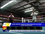 Donaire inspired by dad's presence in camp