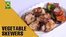 BBQ Vegetable Skewers | Evening With Shireen | Masala TV Show | Shireen Anwar