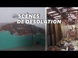 Aux Bahamas, les premières images des dégâts de l'ouragan Dorian