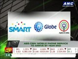 ABS-CBN mobile phone service to arrive by year-end