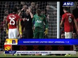 Manchester United blanks Arsenal 1-0