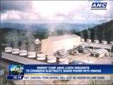 Conserve power for typhoon-hit Visayas, gov't says
