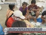 Leyte asks DSWD to extend relief operations