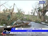 Typhoon-hit Leyte struggles to recover