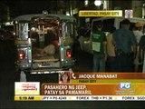 Jeepney passenger shot dead in Pasay_1
