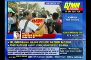 Militants hold rally outside PNoy's house