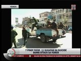 7 Pinoys killed in suicide bomb attack in Yemen