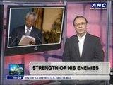 Teditorial: Strength of his enemies