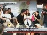 Justin Bieber holds mini-concert for 'Yolanda' survivors