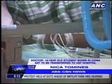 Comatose boxing student to be brought to UST