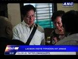 Rehab czar Ping visits Yolanda-hit Leyte, Samar