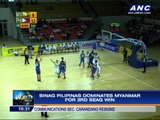 Sinag Pilipinas waylays Myanmar
