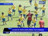 Pinoy kid enters Arsenal youth program