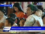 Dawn mass brings comfort to typhoon survivors
