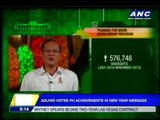 Aquino notes PH achievements in New Year message