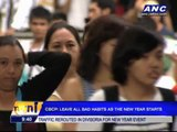 CBCP: Leave all bad habits as New Year starts