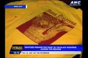 Devotees prepare for Black Nazarene feast across the regions