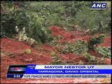 Families escape landslide in Davao Oriental