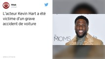 L'acteur Kevin Hart sérieusement blessé dans un accident de voiture