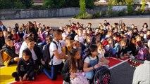 Des élèves accueillis en musique à l'école primaire de Procheville à Pont-à-Mousson