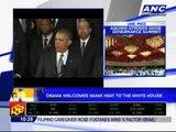 Obama welcomes Miami Heat to White House