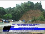 Iligan residents evacuate due to threat of landslide