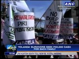 Thousands of 'Yolanda' survivors protest in Tacloban