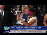 Li Na becomes first Chinese to win Australian Open