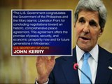 Kerry commends PH-MILF peace deal