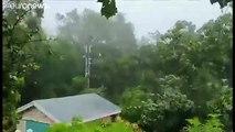 L'ouragan Dorian frappe les Bahamas de plein fouet, les Etats-Unis en état d'alerte
