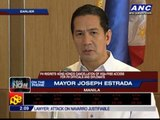 Erap: Manila bus hostage crisis not the fault of PNoy