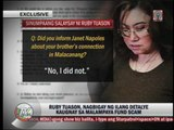 Ruby Tuason bares 'Palace connection' in Malampaya scam