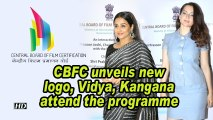 CBFC unveils new logo, Vidya, Kangana attend the event