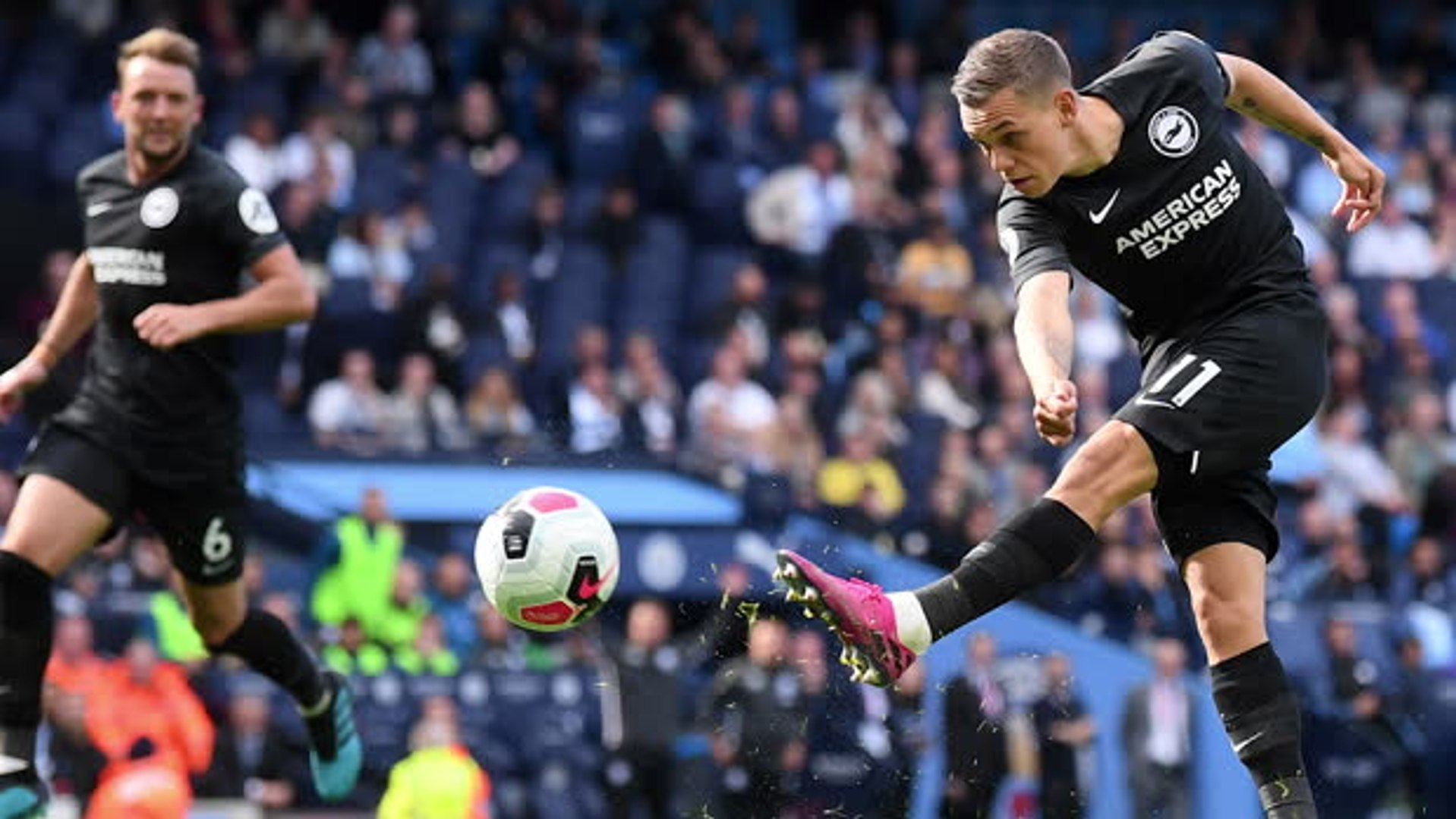 Brighton's courage praised by both managers