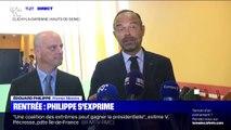 """Edouard Philippe: """"La rentrée est un moment important pour les enfants, pour les professeurs et pour la France"""""""
