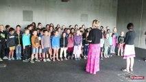 Une rentrée en musique dans la nouvelle école de Sécheras/Cheminas