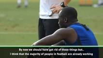 People are working to tackle racism - Mancini after Lukaku chants
