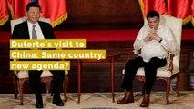 Duterte's visit to China: Same country, new agenda?