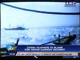 WATCH: Chinese ship chasing Filipinos
