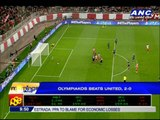 Greek team Olympiakos blanks Man United